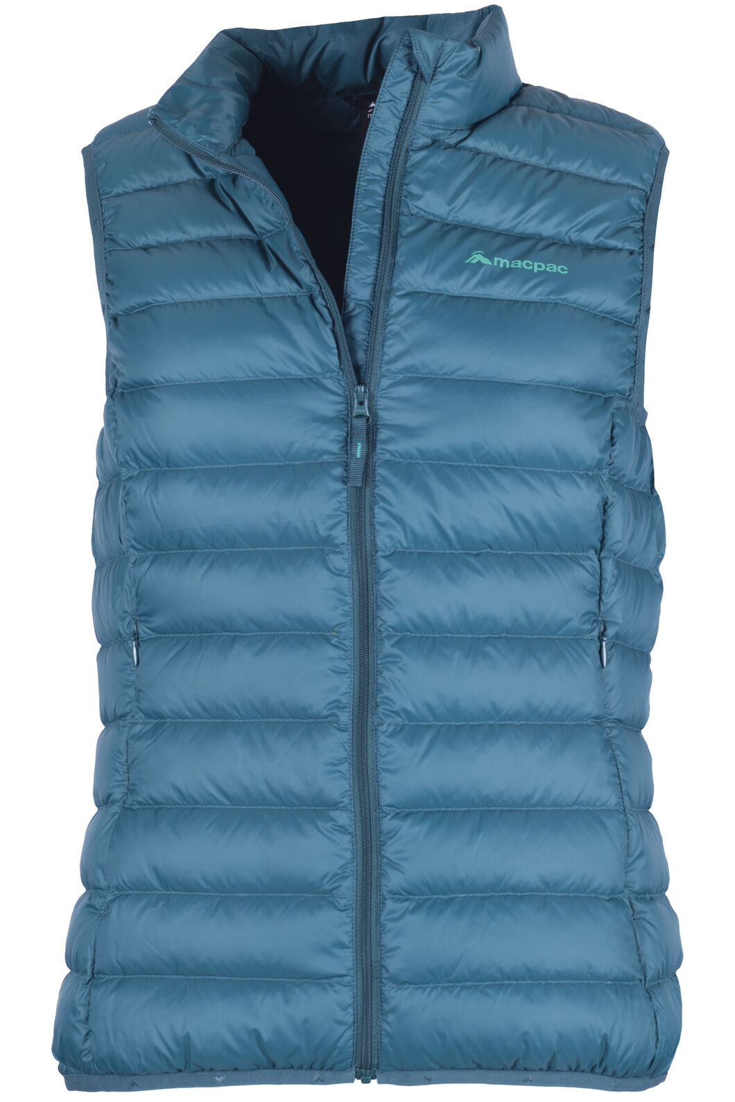 Macpac Uber Light Down Vest - Women's, Deep Teal, hi-res