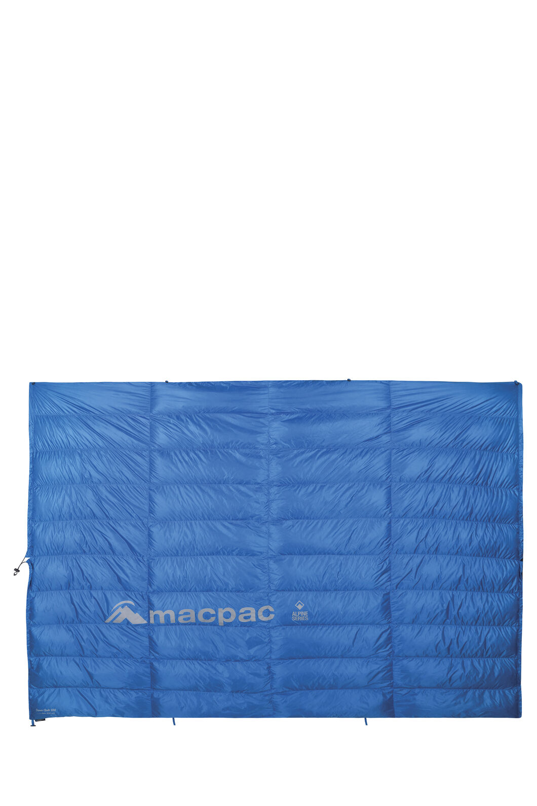 Macpac NZAT HyperDRY™ Down Quilt 350, Cerulean Blue, hi-res