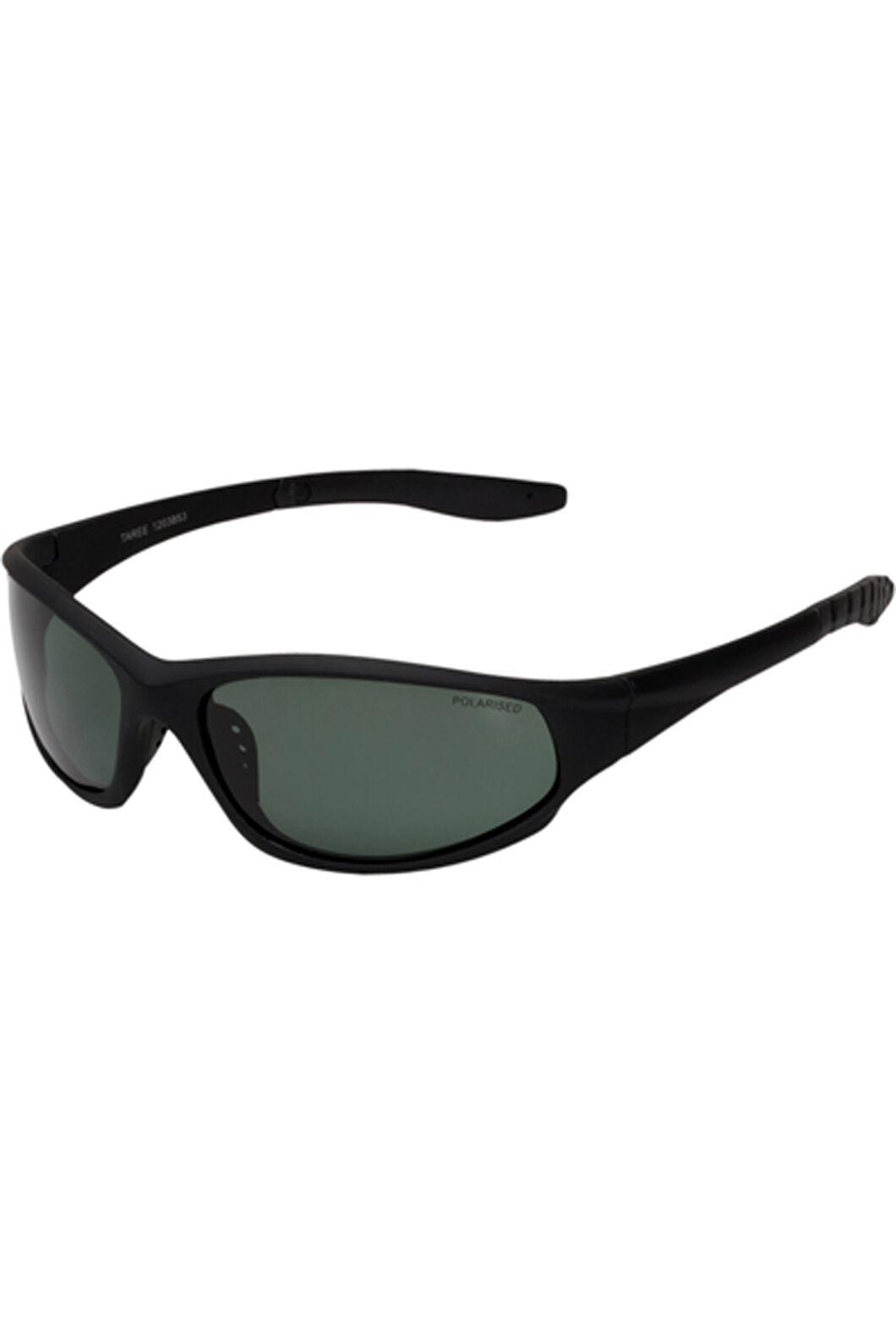 Cancer Council Unisex Taree Polarised Sunglasses, Black, hi-res