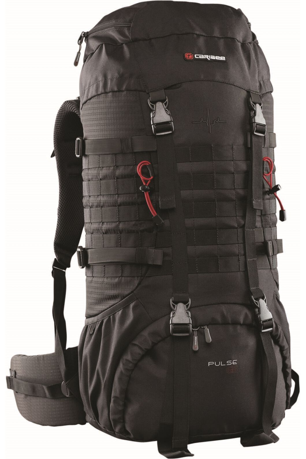 Caribee Pulse Trekking Pack 65L, None, hi-res