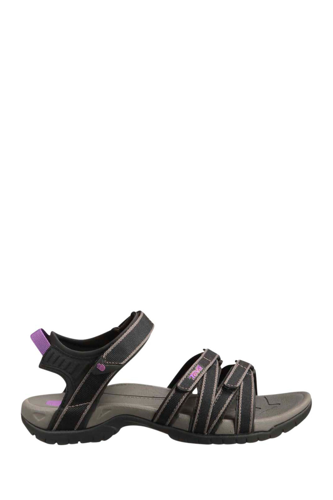 Teva Tirra Sandals — Women's, Black/Grey, hi-res