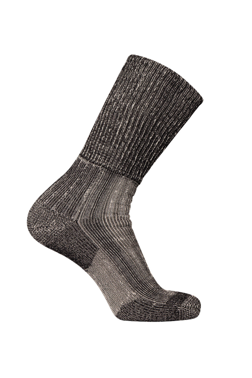 Macpac Winter Hiker Socks, Black, hi-res