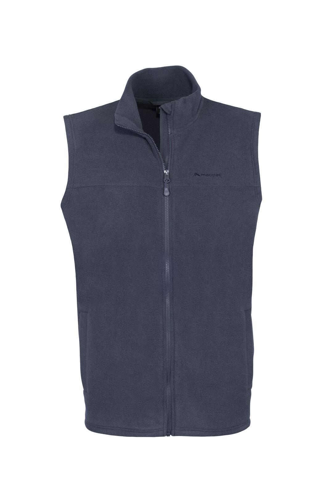 Macpac Waitomo Polartec® Fleece Vest — Men's, India Ink, hi-res