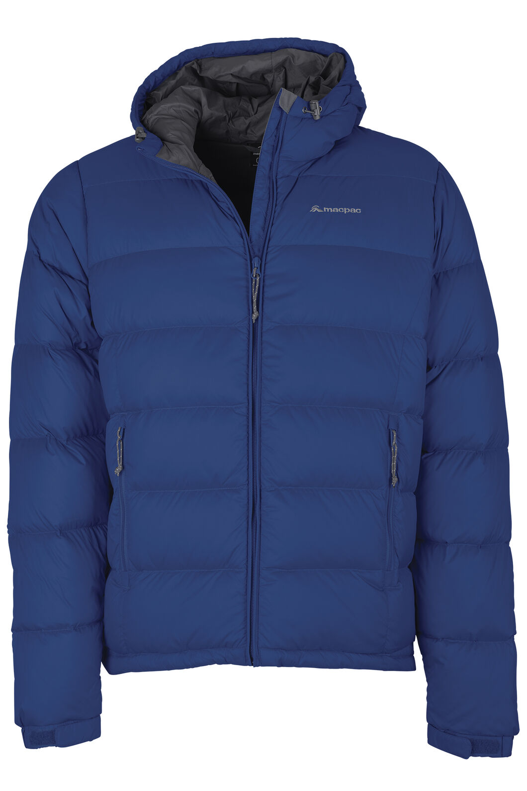 Macpac Halo Hooded Down Jacket - Men's, Classic Blue, hi-res