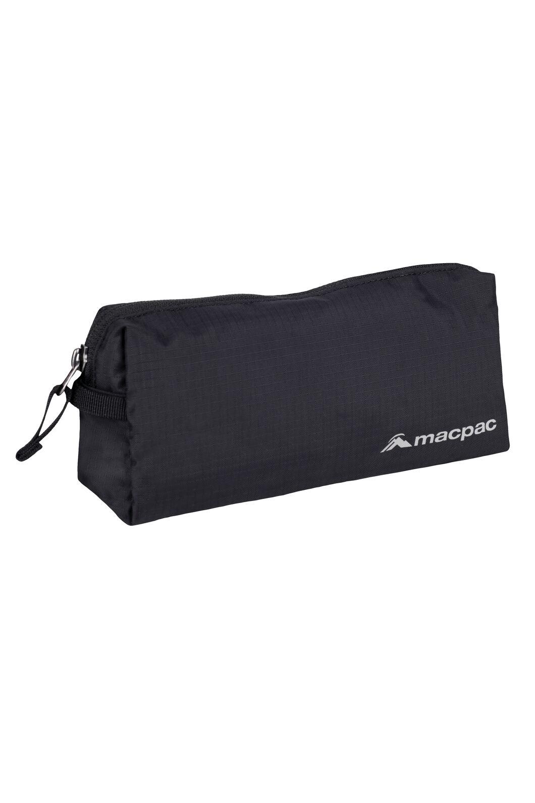 Macpac Carry-On Wash Bag, Black, hi-res