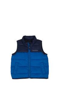 Macpac Atom Down Vest — Baby, Black Iris/Snorkel, hi-res
