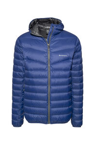 Macpac Mercury Hooded Down Jacket — Men's, Blueprint, hi-res
