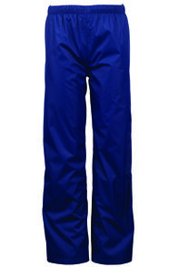 Macpac Jetstream Rain Pants — Kids', Medieval Blue, hi-res