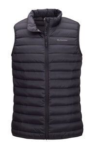 Macpac Uber Light Down Vest — Men's, Black, hi-res