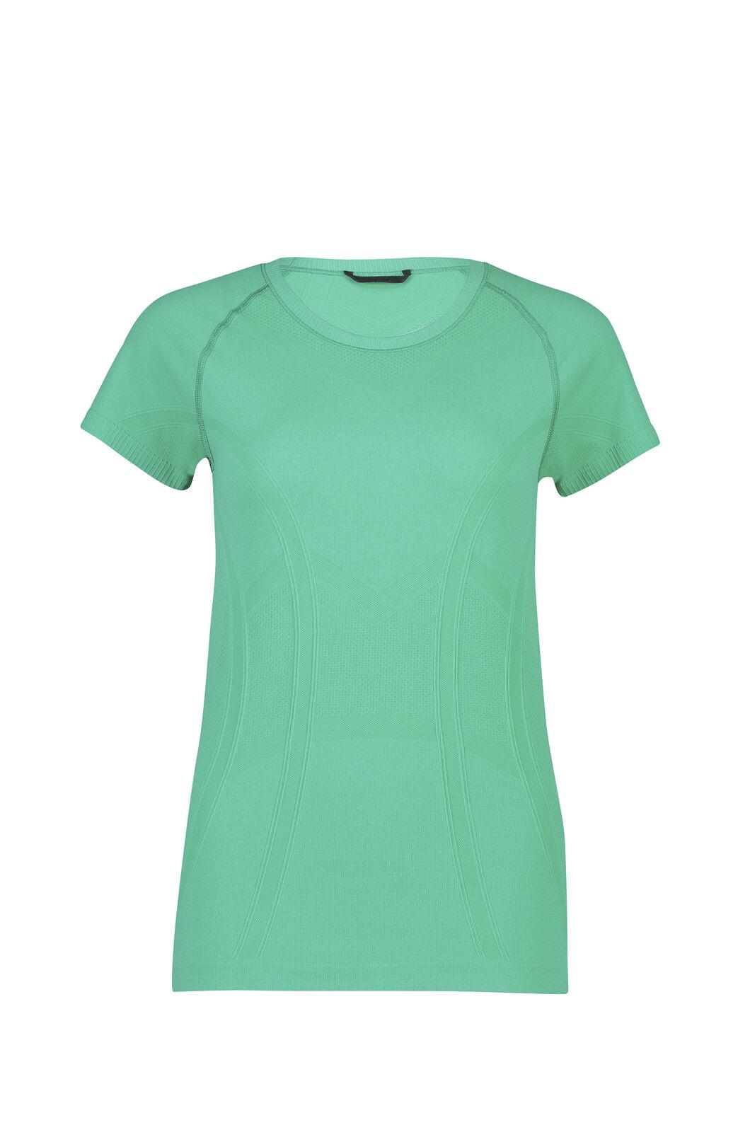 Macpac Limitless Short Sleeve Tee - Women's, Deep Green, hi-res