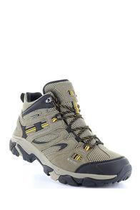Hi-Tec Ravus Vent Mid WP Boots — Men's, Taupe/Stone/Core Gold, hi-res