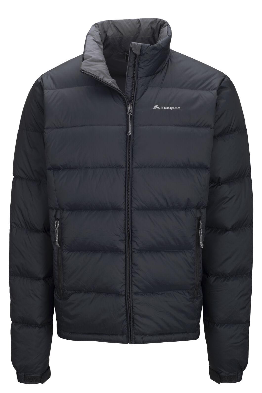 Macpac Men's Halo Down Jacket, Black, hi-res