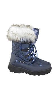 XTM Inessa Snow Boots - Kids', Navy/Floral, hi-res