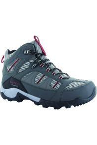 Hi-Tec Men's Bryce II Hiking Boots, Charcoal/Grey/Fired Brick, hi-res