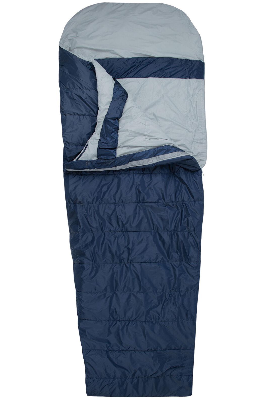 Macpac Roam Synthetic 150 Sleeping Bag - Standard, Black Iris, hi-res