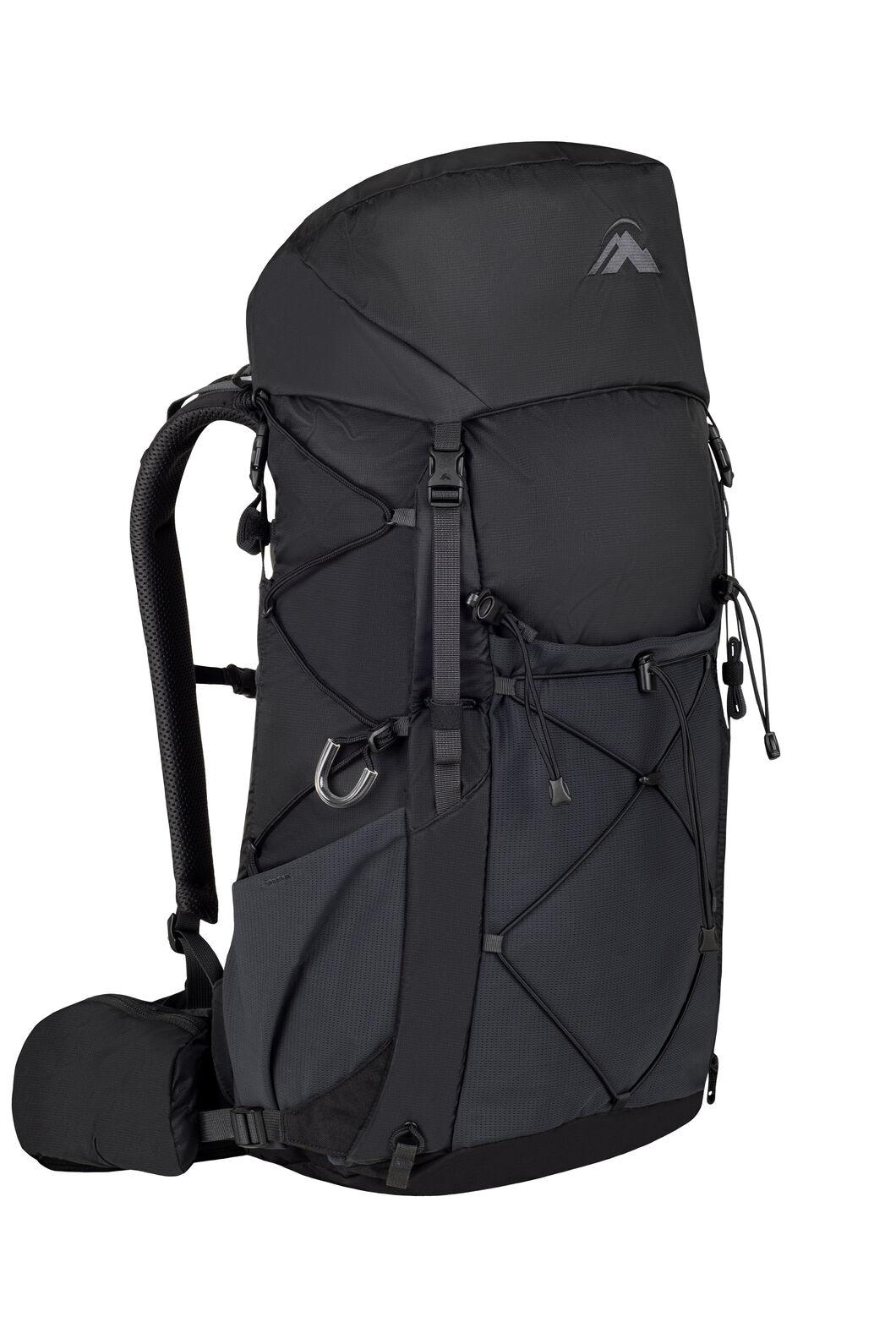 Macpac Fiord 1.1 40L Pack, Black/Black, hi-res