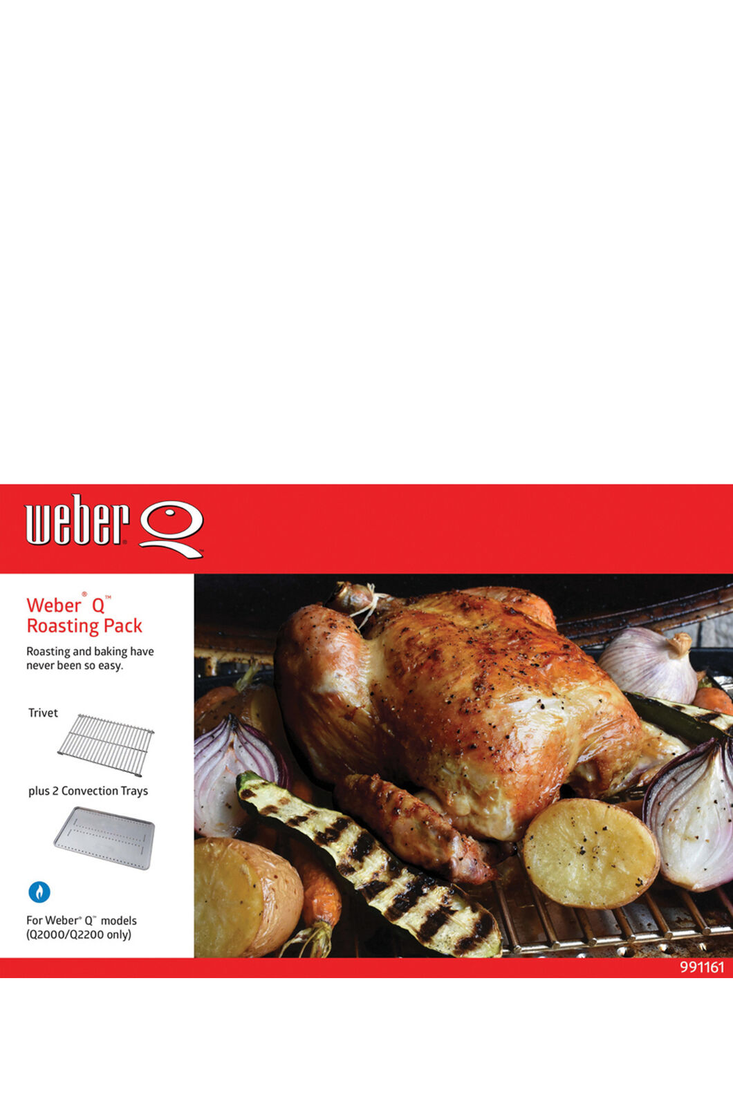 Weber Q Roasting Pack, None, hi-res
