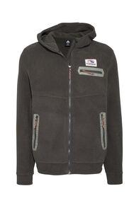 Macpac Solis Polartec® Fleece Jacket — Men's, Black Olive, hi-res