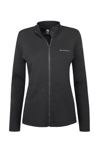 Macpac Tennyson 320 Merino Jacket — Women's, Black, hi-res
