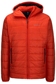 Macpac Sou'west PrimaLoft® Hooded Jacket — Men's, Pureed Pumpkin, hi-res
