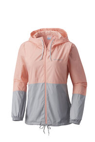 Columbia Women's Flash Forward Windbreaker Jacket NocturnalSand, SORBET/GREY, hi-res