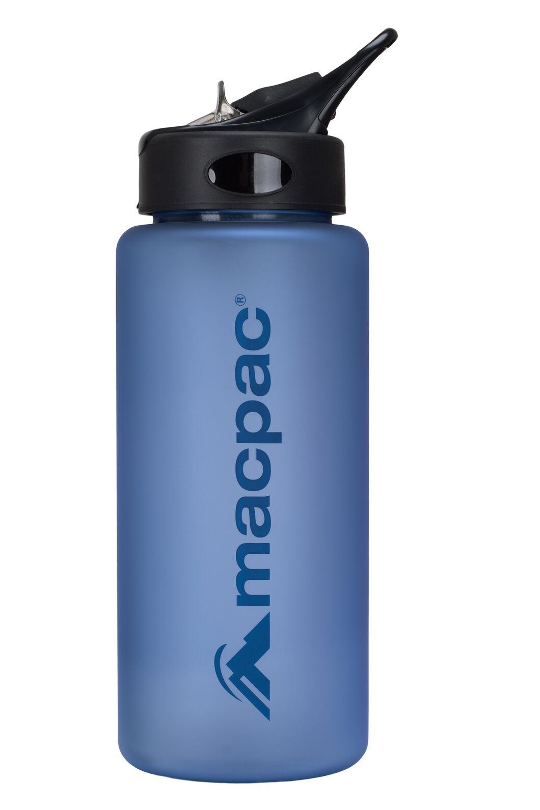 Macpac Flip Top Drink Bottle — 850 mL, Methyl/Dark Blue, hi-res
