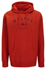 Macpac Organic Cotton Fairtrade Hooded Pullover — Men's, Pureed Pumpkin, hi-res
