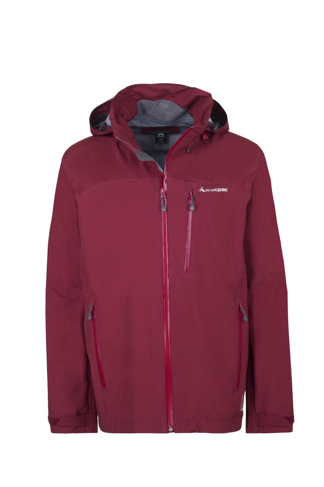 Macpac Traverse Pertex®Rain Jacket - Men's, Syrah, hi-res