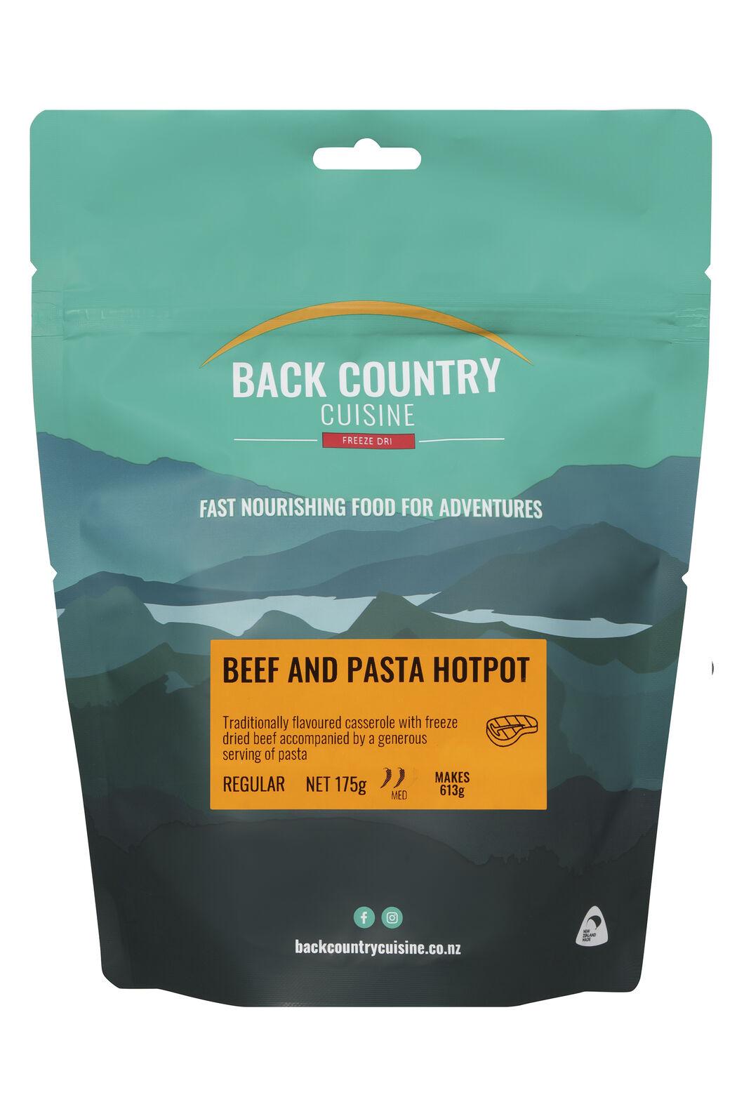 Back Country Cuisine Beef & Pasta Hotpot — Regular Serve, None, hi-res