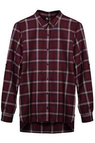 Porters Flannel Shirt - Women's, Windsor Wine/Black Iris, hi-res