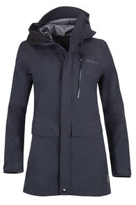 Resolution Pertex Shield® Long Rain Jacket - Women's, Black, hi-res