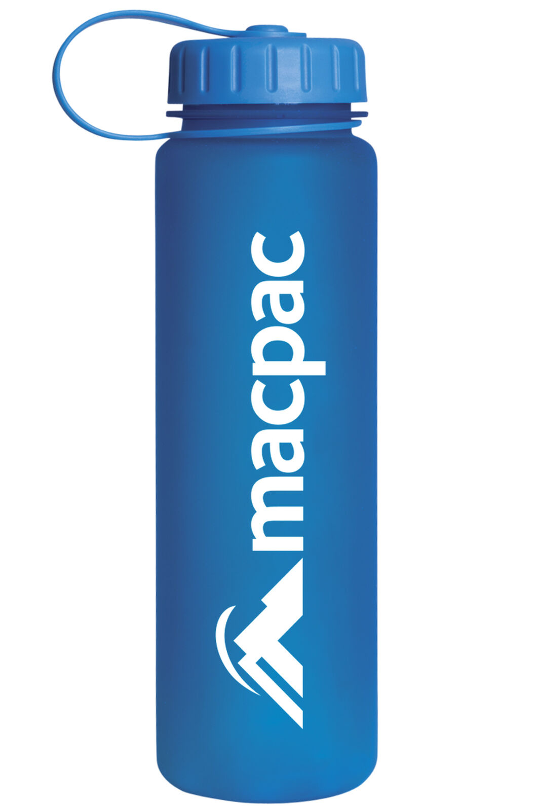 Soft Touch Water Bottle 600mL, Blue, hi-res