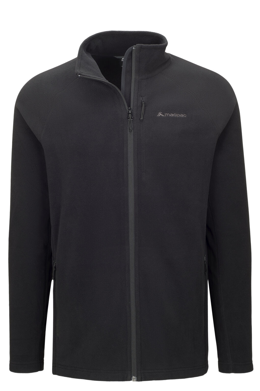 Macpac Tui Polartec® Micro Fleece® Jacket — Men's, Black, hi-res