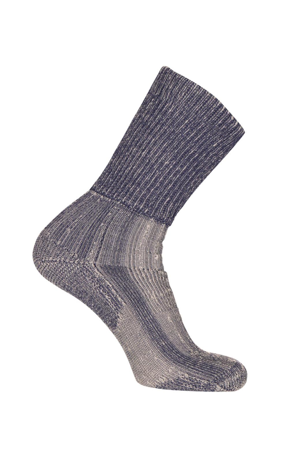 Macpac Winter Hiker Socks, Denim, hi-res