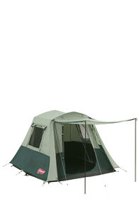 Coleman Instant Up Traveller 4 Person Tent, Green/Blue, hi-res