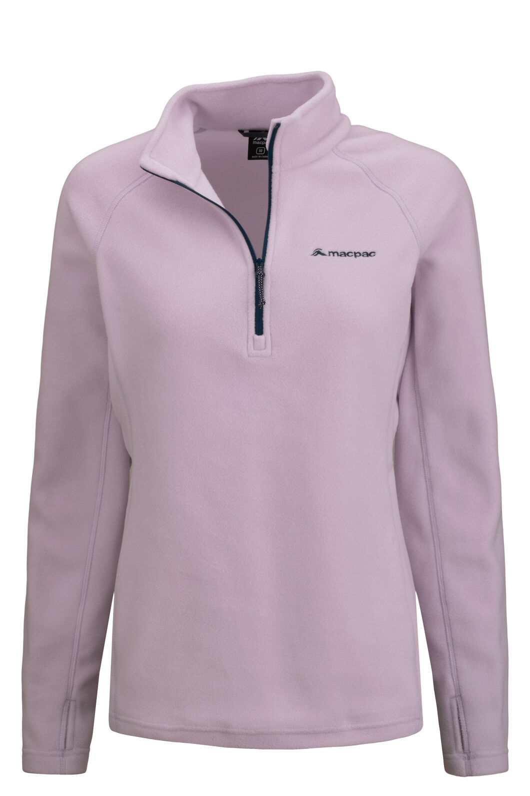 Macpac Women's Tui Polartec® Micro Fleece® Pullover, Orchid Hush, hi-res