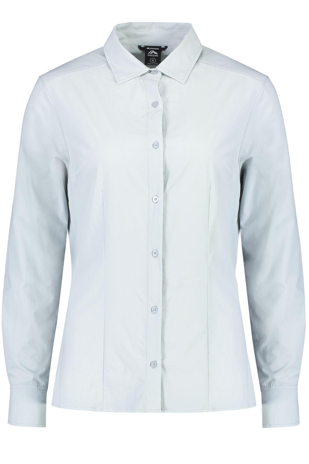 Macpac Eclipse Long Sleeve Shirt - Women's, Pearl, hi-res