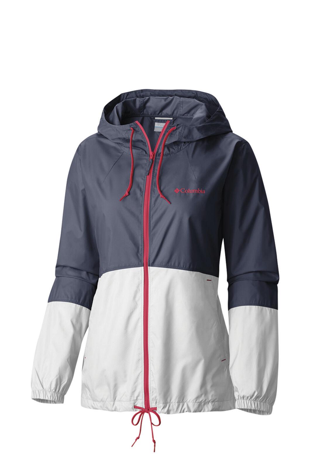 Columbia Women's Flash Forward Windbreaker Jacket NocturnalSand, NOCTURNAL, hi-res