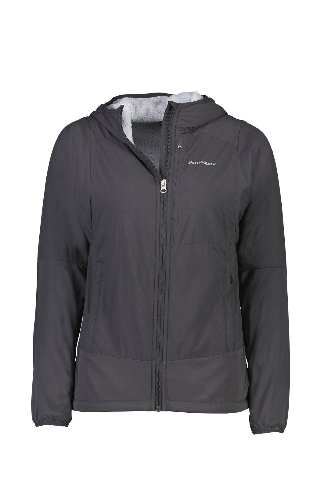 Macpac Pisa Polartec® Hooded Jacket - Women's, Phantom, hi-res