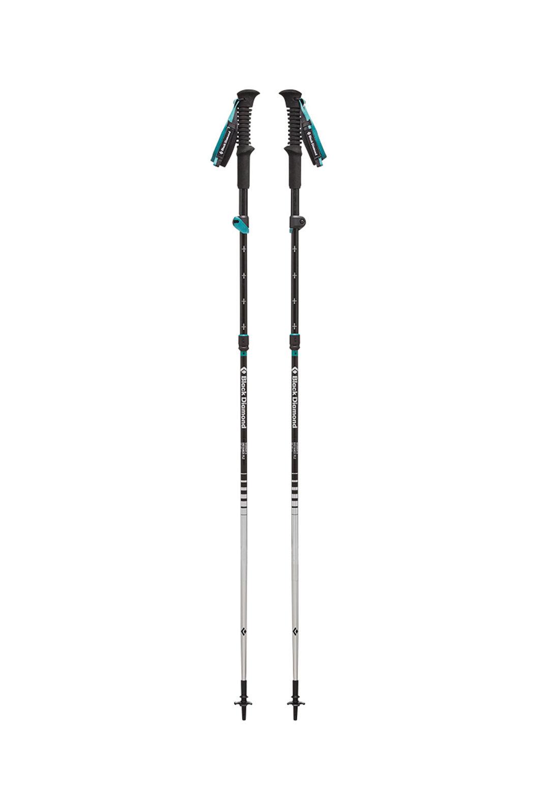 Black Diamond Women's Distance FLZ Trekking Pole 110cm, None, hi-res