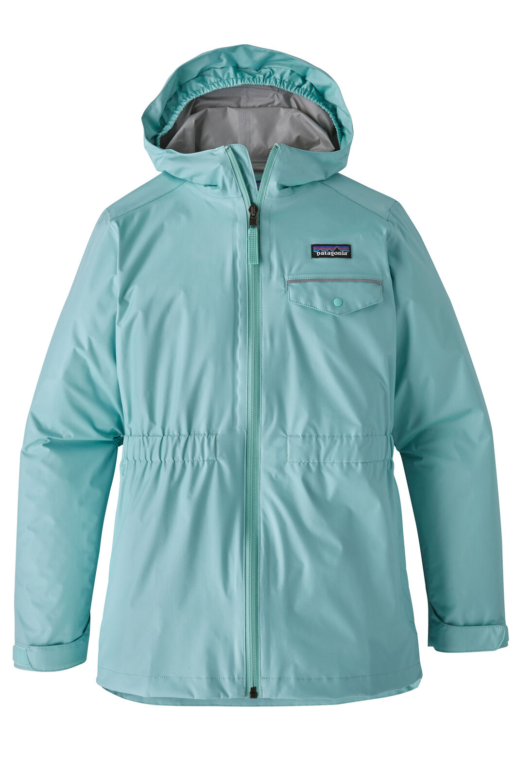 Patagonia Girls' Torrentshell Jkt, Blue, hi-res