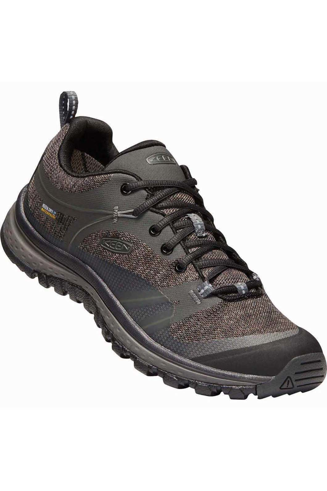Keen Women's Terradora WP Hiking Shoes, Raven/Gargoyle, hi-res