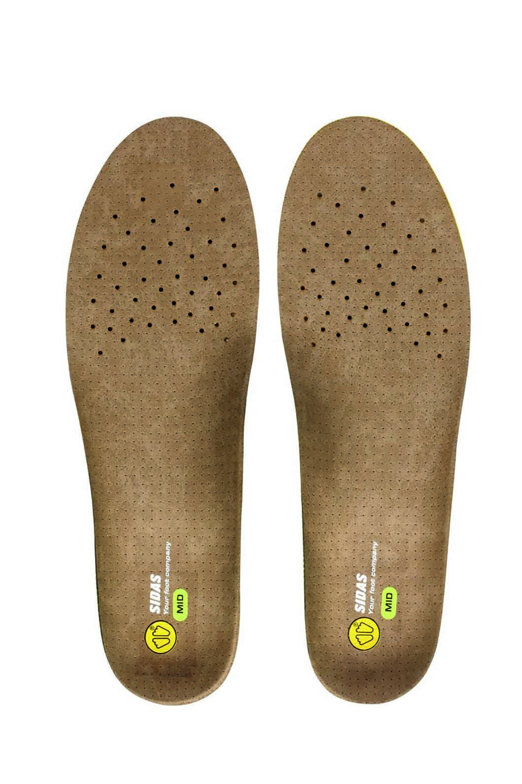 Sidas 3 Feet Outdoor Mid Innersole, Brown, hi-res