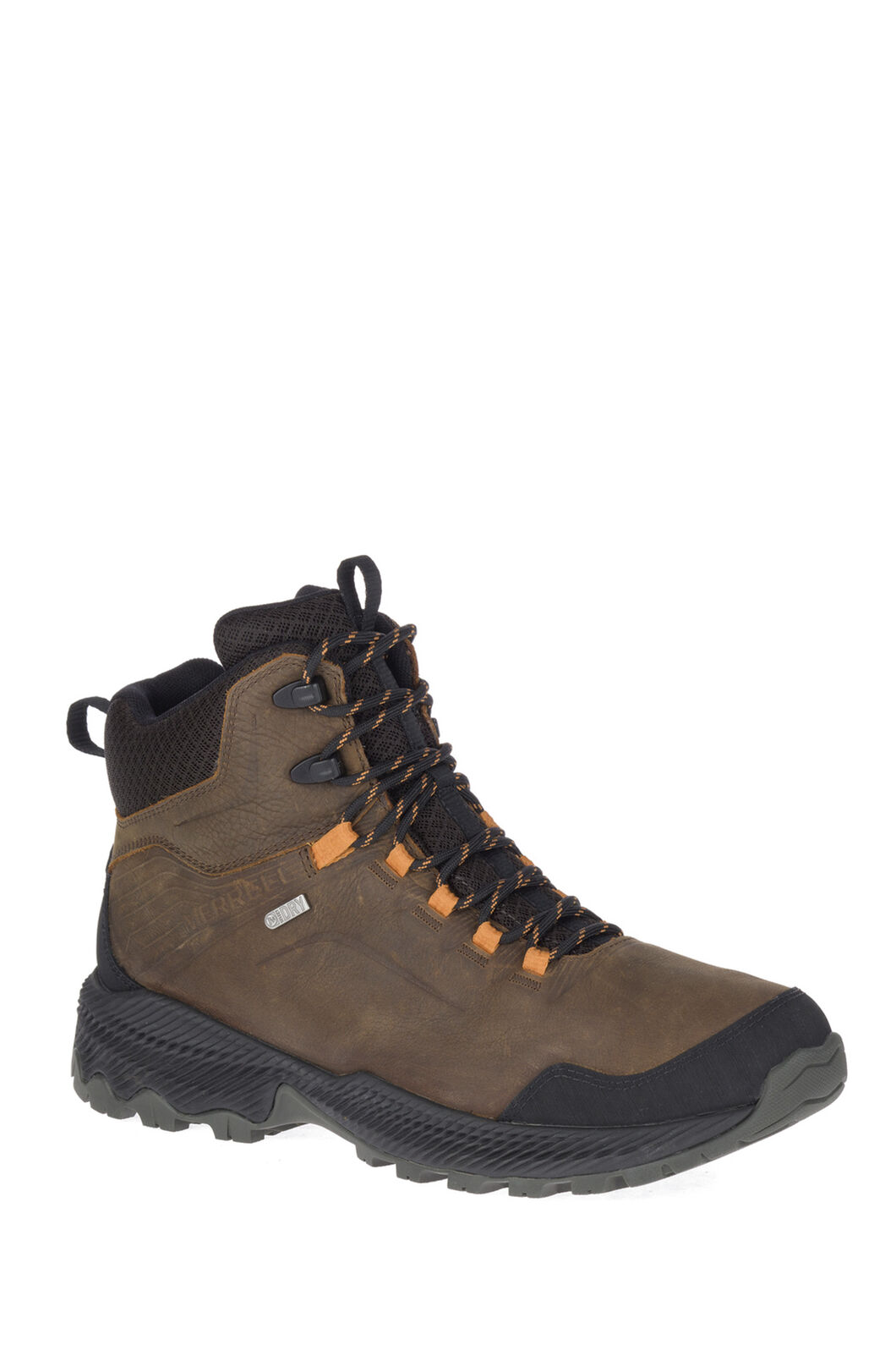 Merrell Men's Forestbound Mid WP Hiking Boots, DARK EARTH, hi-res