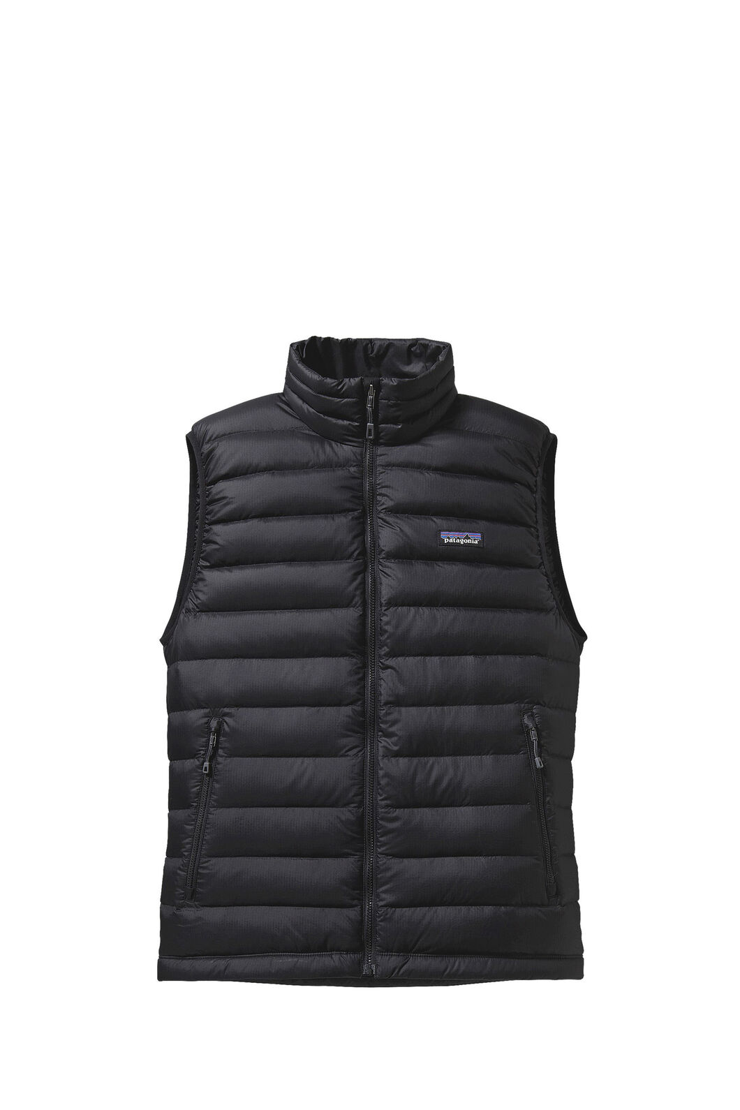 Patagonia Down Sweater Vest — Men's, Black, hi-res