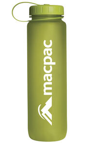 Macpac Soft Touch Water Bottle 1L, Green, hi-res