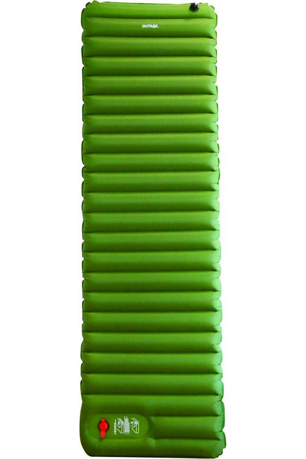 Outrak Insulated Hike Inflatable Mat 9cm, None, hi-res