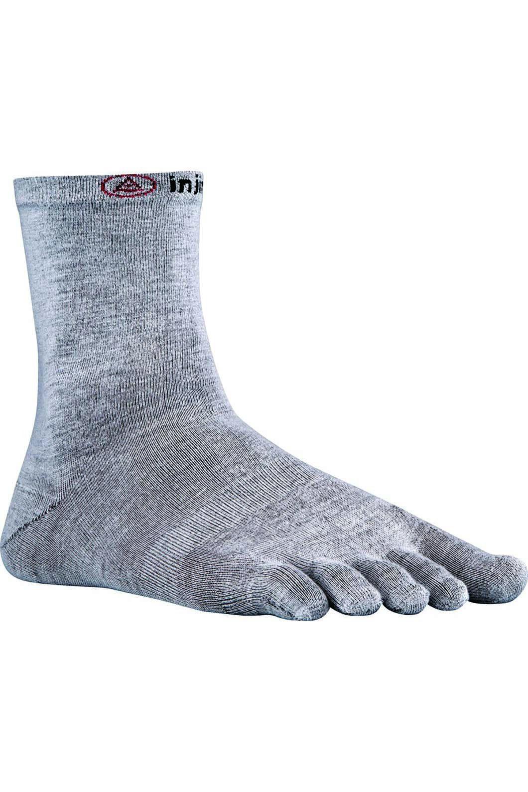 Injinji Unisex CoolMax Sock Liner, Grey, hi-res