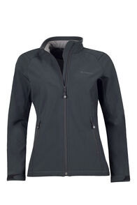 Macpac Sabre Softshell Jacket - Women's, Black, hi-res