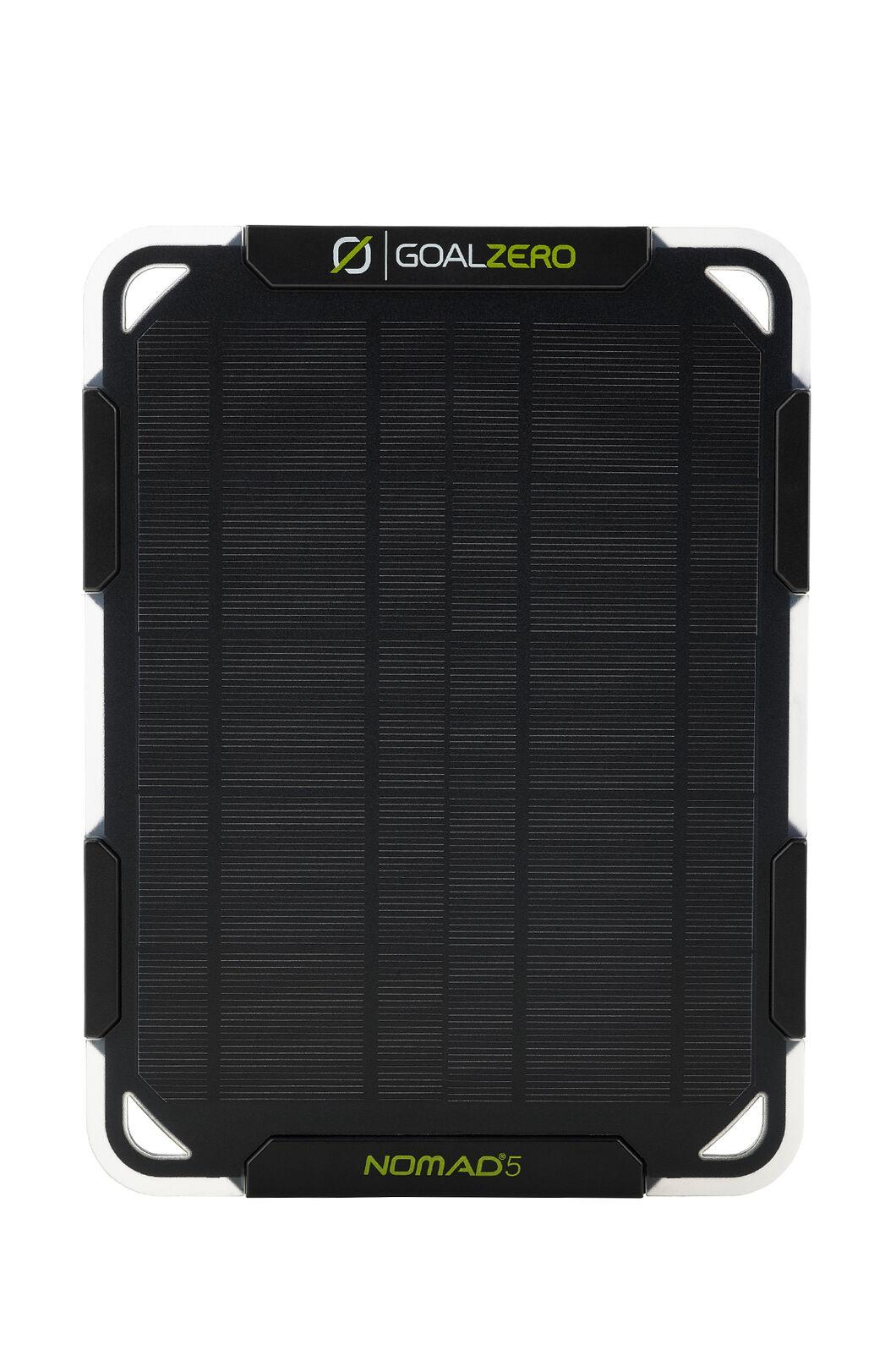 Goal Zero Nomad 5W Solar Panel & Flip 12 Power Bank, None, hi-res